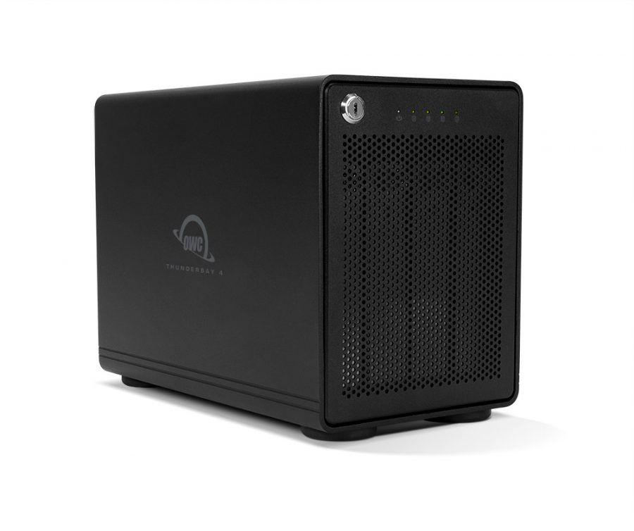 Case OWC ThunderBay 4 Thunderbolt 3 0TB  - Rei dos HDs