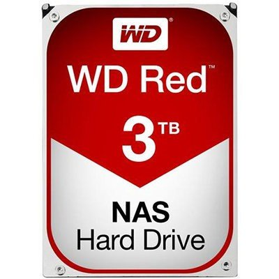 "HD WD Red 3.5"" 3TB  - Rei dos HDs"