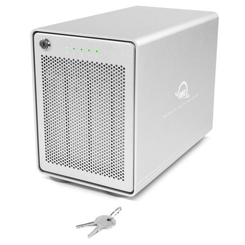 HD + Case OWC Mercury Elite Pro Quad USB-C 16TB   - Rei dos HDs