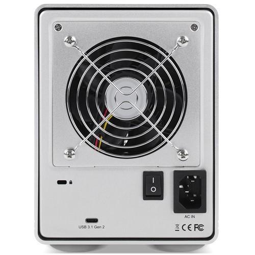 HD + Case OWC Mercury Elite Pro Quad USB-C 48TB   - Rei dos HDs