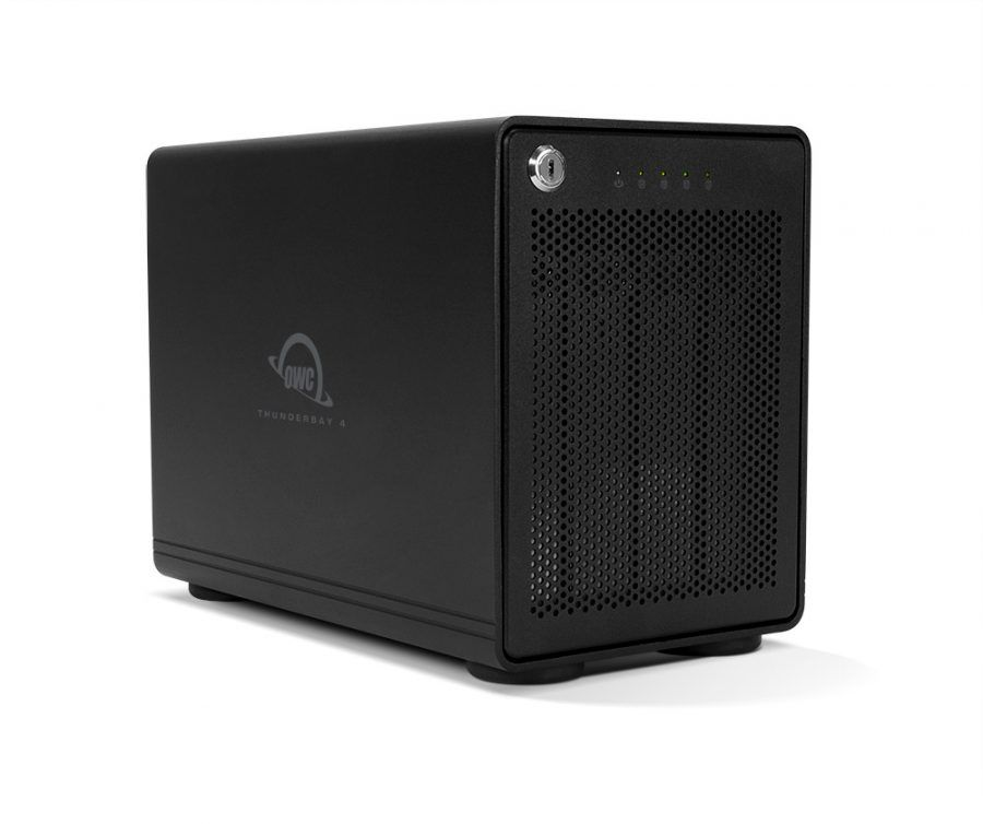 HD + Case OWC ThunderBay 4 Thunderbolt 3 16TB  - Rei dos HDs