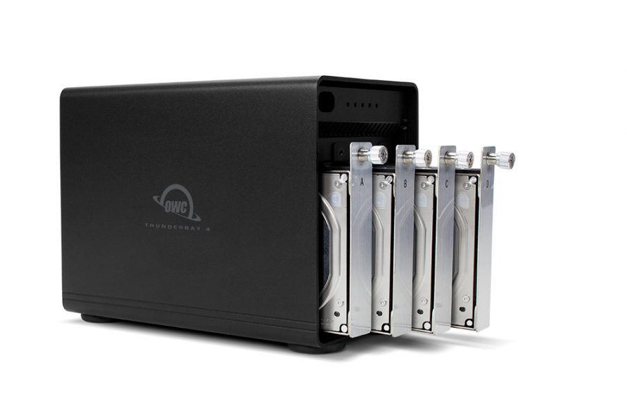HD + Case OWC ThunderBay 4 Thunderbolt 3 48TB  - Rei dos HDs