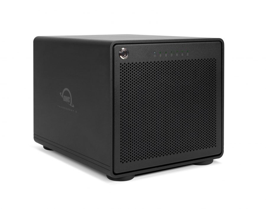 HD + Case OWC ThunderBay 6 Thunderbolt 3 60TB  - Rei dos HDs