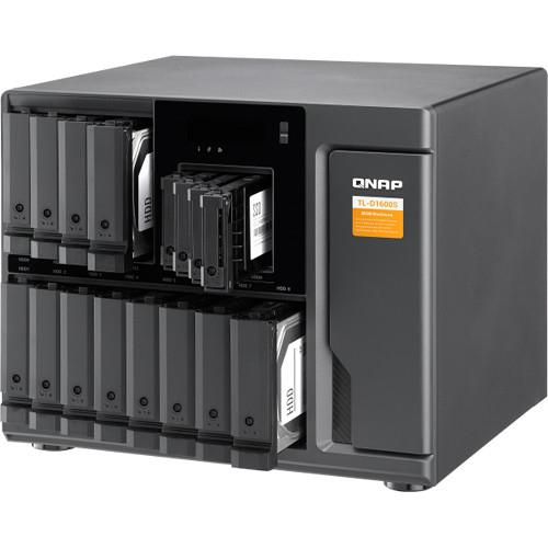 HD + Case Qnap TL-D1600S 120TB  - Rei dos HDs