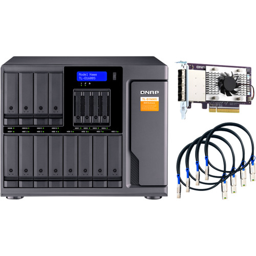 HD + Case Qnap TL-D1600S 144TB  - Rei dos HDs