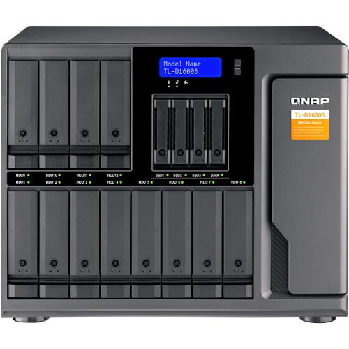 HD + Case Qnap TL-D1600S 96TB  - Rei dos HDs