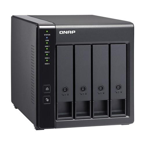 HD + Case Qnap TR-004 4TB  - Rei dos HDs