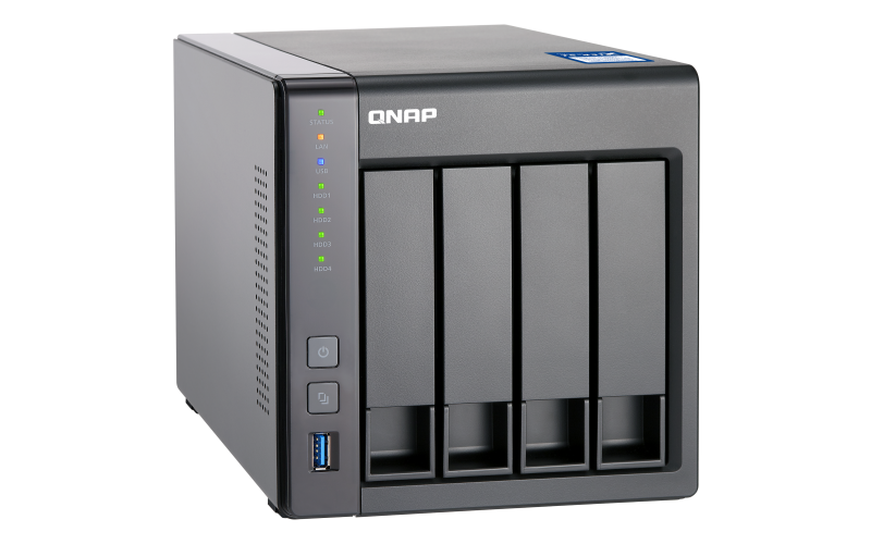 HD + Case QNAP TS-431X 40TB  - Rei dos HDs
