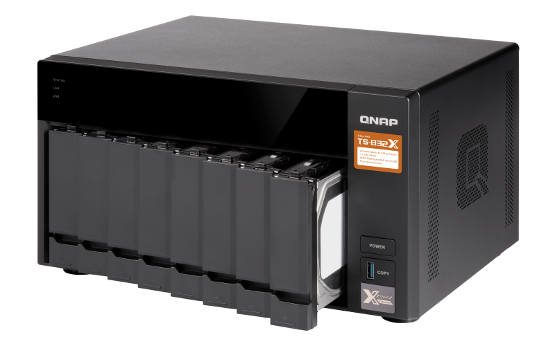 HD + Case QNAP TS-832X 16TB  - Rei dos HDs
