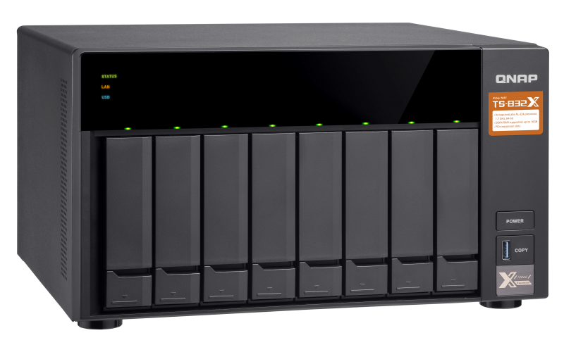 HD + Case QNAP TS-832X 24TB  - Rei dos HDs