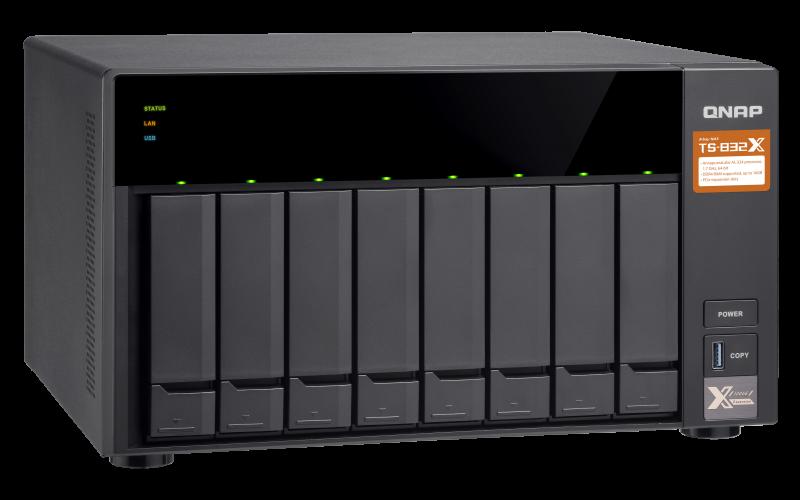 HD + Case QNAP TS-832X 32TB  - Rei dos HDs