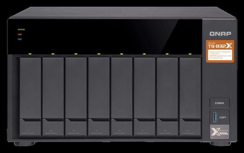HD + Case QNAP TS-832X 64TB  - Rei dos HDs