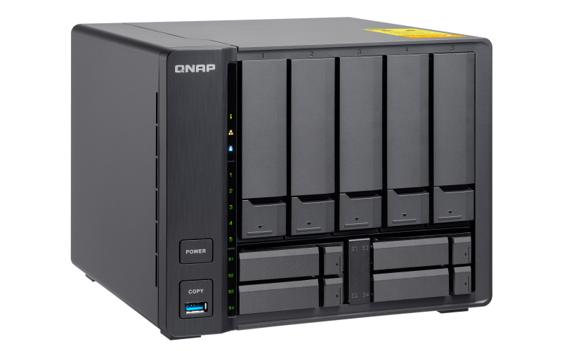 HD + Case QNAP TS-932X 50TB  - Rei dos HDs