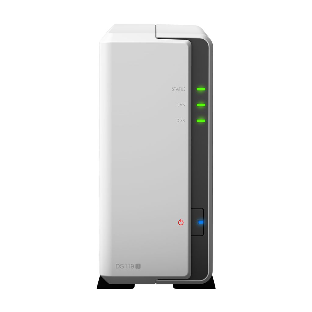 HD + Case Synology DS119J 4TB  - Rei dos HDs