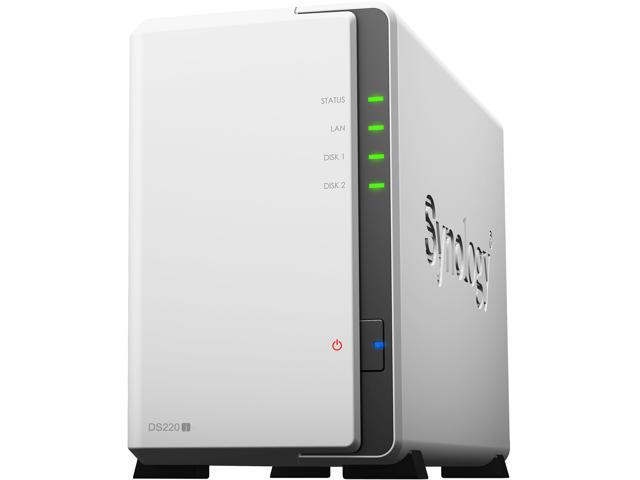 HD + Case Synology DS220J 6TB  - Rei dos HDs