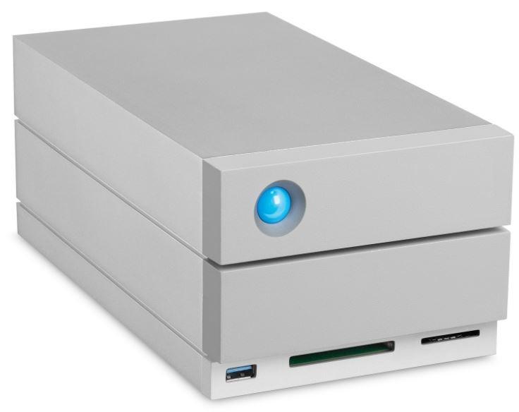 HD LaCie 2big Dock Thunderbolt 3 20TB  - Rei dos HDs