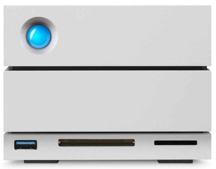 HD LaCie 2big Dock Thunderbolt 3 24TB  - Rei dos HDs