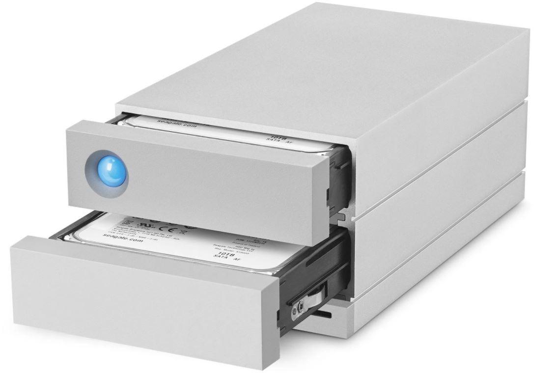 HD LaCie 2big Dock Thunderbolt 3 28TB  - Rei dos HDs