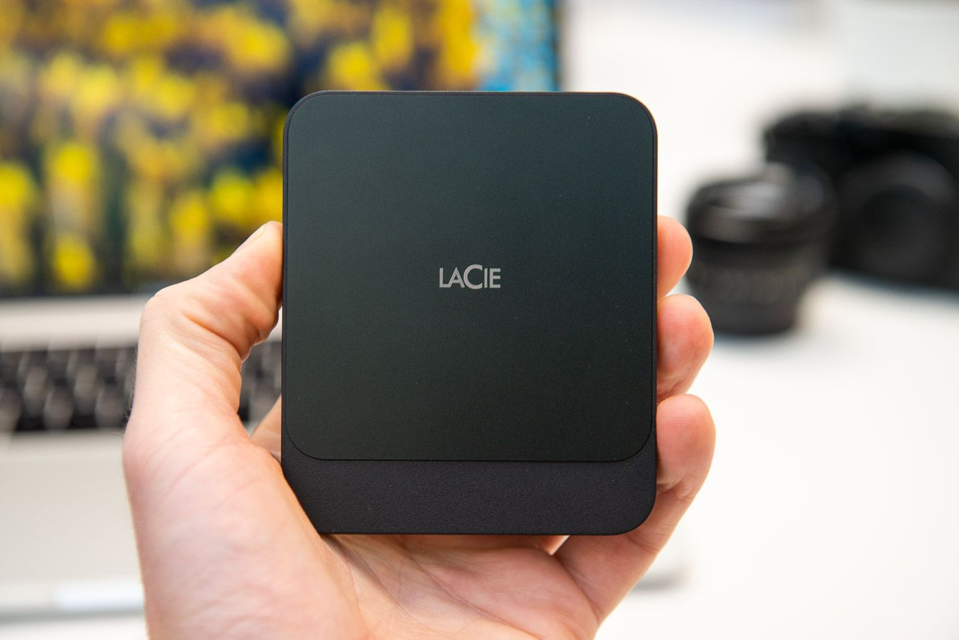 HD LaCie Portable SSD 500GB  - Rei dos HDs
