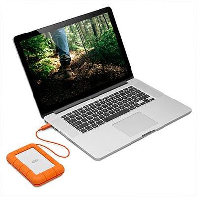 HD LaCie Rugged Thunderbolt USB-C 4TB  - Rei dos HDs