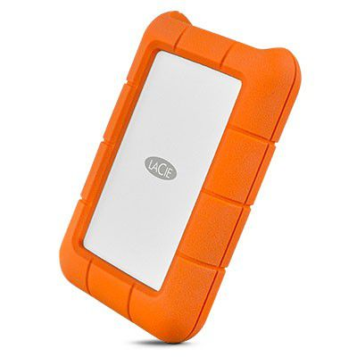 HD LaCie Rugged USB-C 2TB - Rei dos HDs