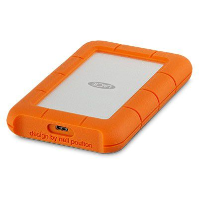 HD LaCie Rugged USB-C 5TB  - Rei dos HDs