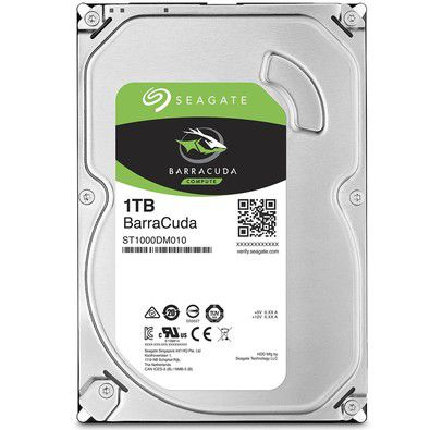 HD Seagate BarraCuda Desktop 3.5 1TB  - Rei dos HDs
