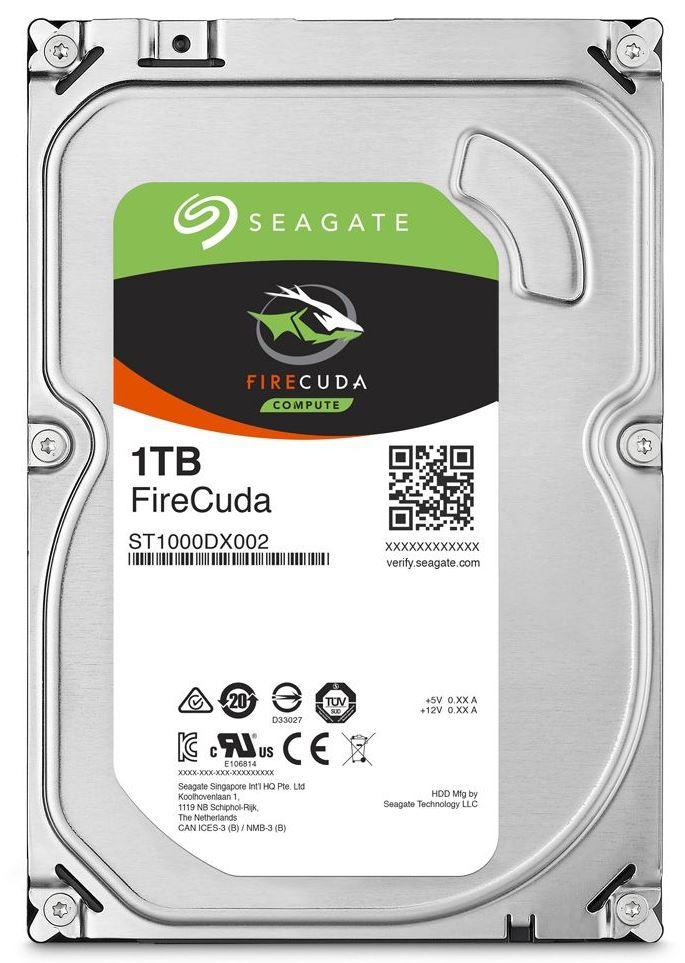 HD Seagate FireCuda 3.5 pol. 1TB  - Rei dos HDs
