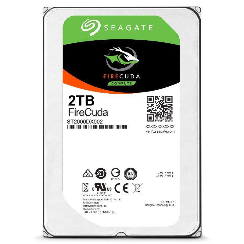 HD Seagate FireCuda 3.5 pol. 2TB  - Rei dos HDs