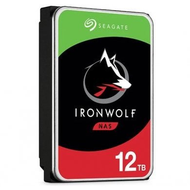 HD Seagate IronWolf NAS HDD 12TB  - Rei dos HDs