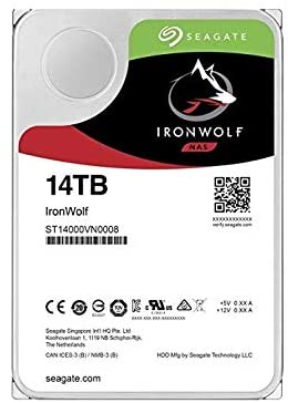 HD Seagate IronWolf NAS HDD 14TB  - Rei dos HDs