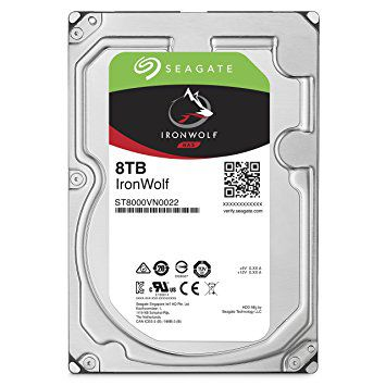 HD Seagate IronWolf NAS HDD 8TB  - Rei dos HDs