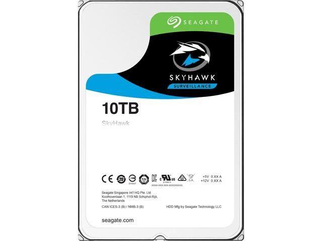 HD Seagate SkyHawk 10TB  - Rei dos HDs