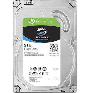 HD Seagate SkyHawk 2TB  - Rei dos HDs