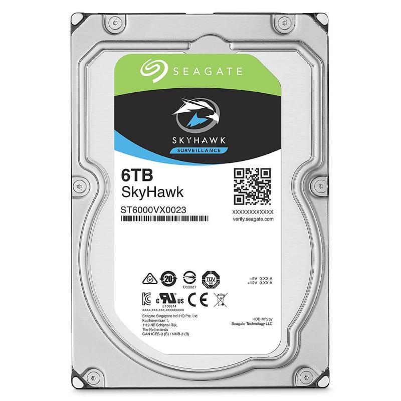 HD Seagate SkyHawk 6TB  - Rei dos HDs