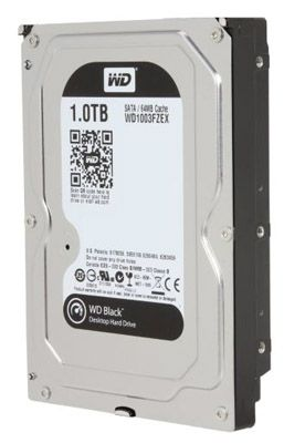 "HD WD Black 3.5"" 1TB   - Rei dos HDs"