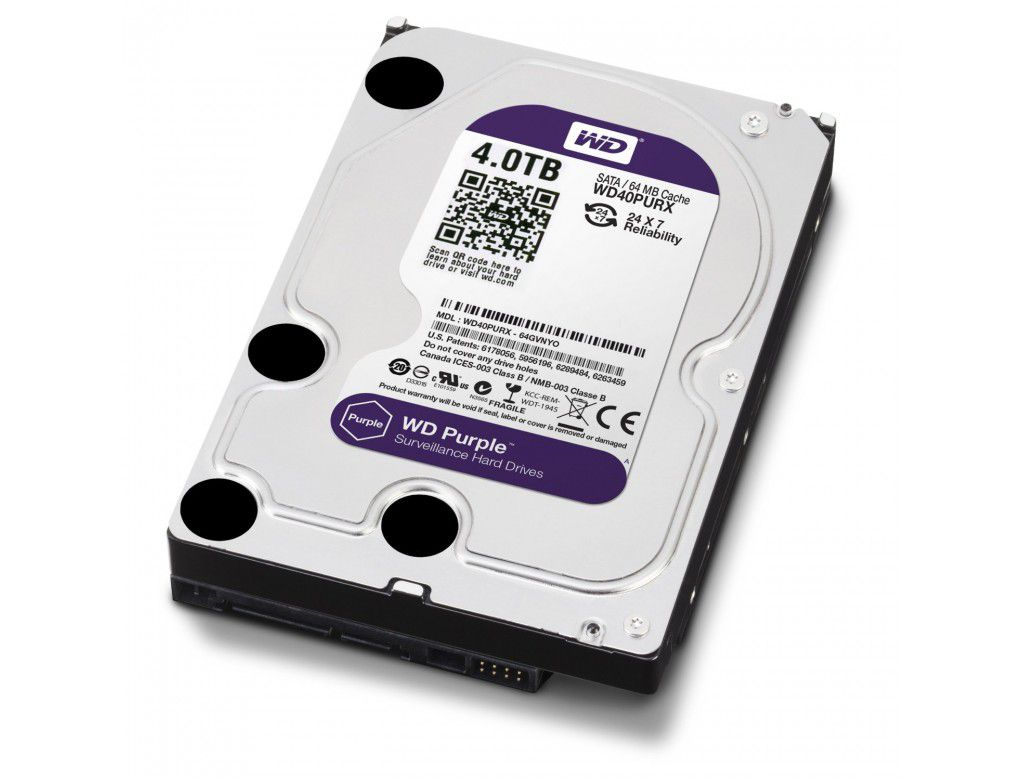 HD WD Purple 3.5 4TB  - Rei dos HDs