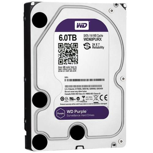HD WD Purple 3.5 6TB  - Rei dos HDs