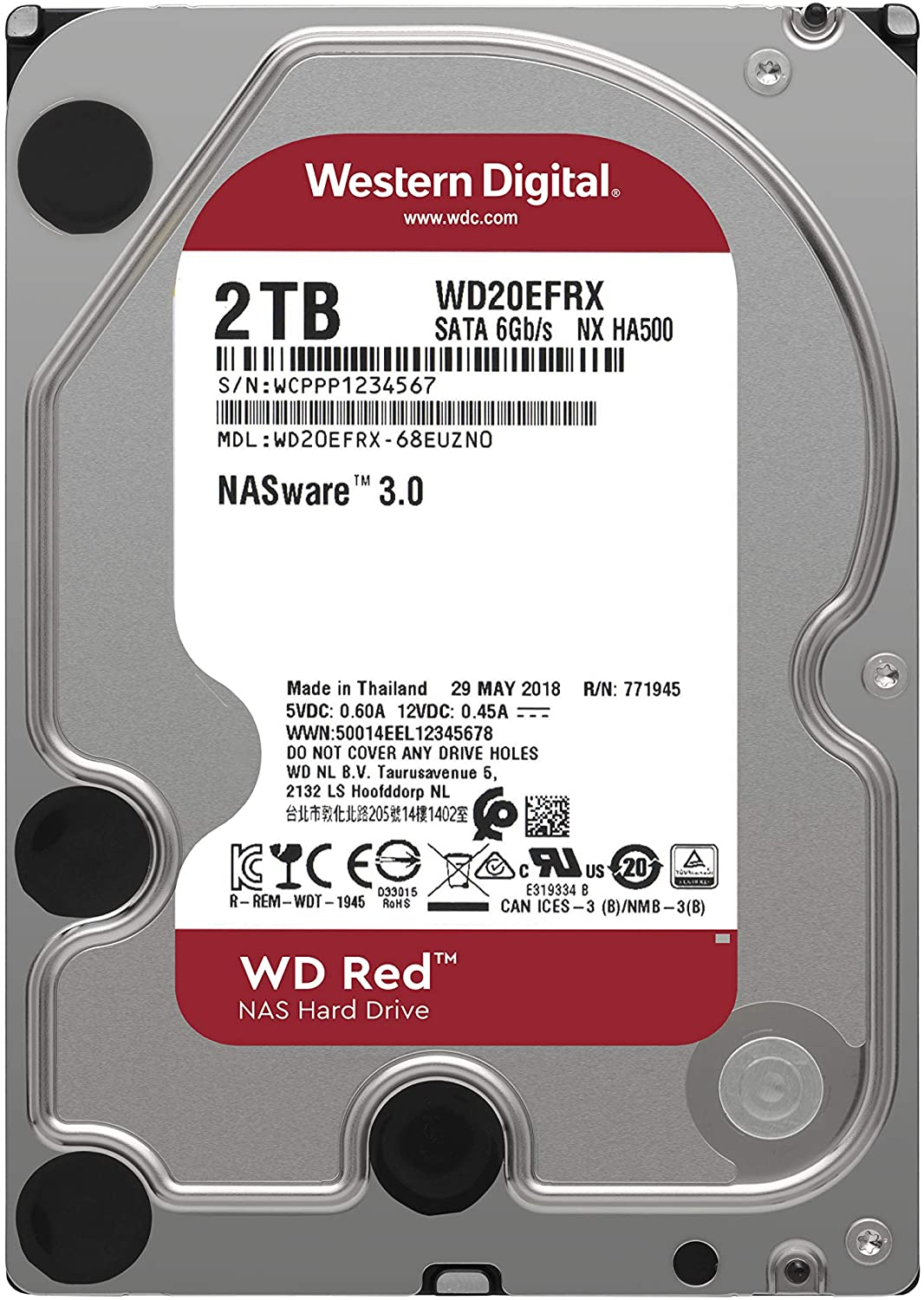 "HD WD Red 3.5"" 2TB   - Rei dos HDs"