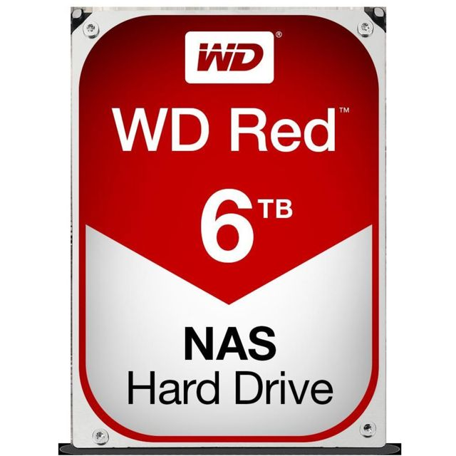 """HD WD Red 3.5"""" 6TB  - Rei dos HDs"""
