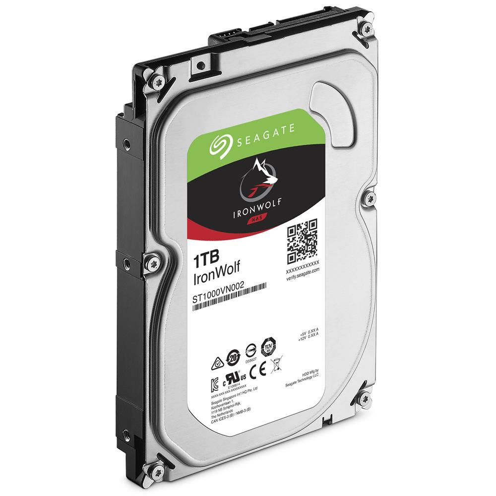 HD Seagate IronWolf NAS HDD 1TB  - Rei dos HDs