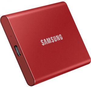 SSD Samsung T7 500GB Vermelho  - Rei dos HDs