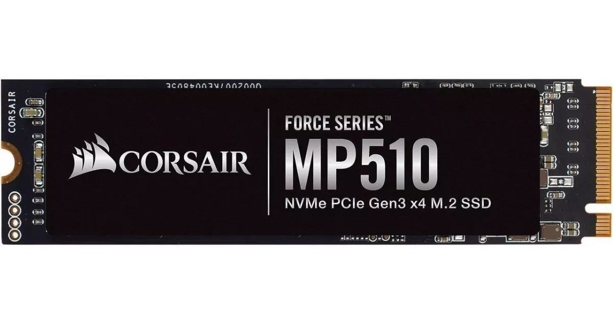 SSD M.2 Corsair MP510 480GB  - Rei dos HDs