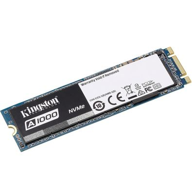 SSD M.2 Kingston A1000 PCIe 480GB - Rei dos HDs