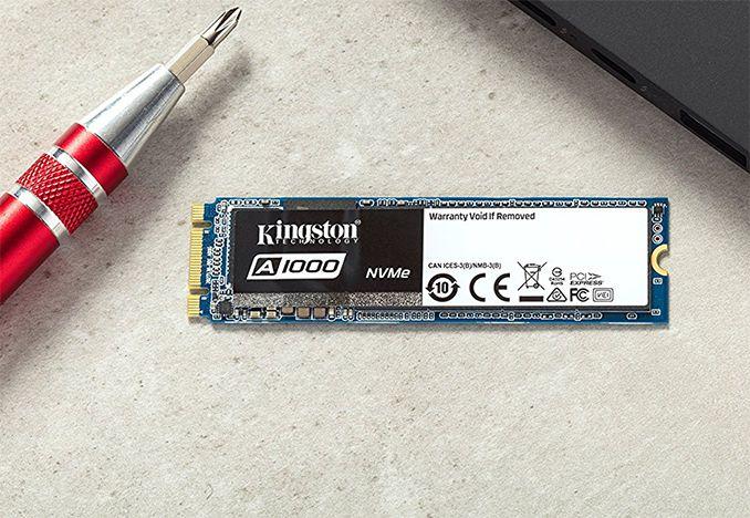 SSD M.2 Kingston A1000 PCIe 960GB  - Rei dos HDs
