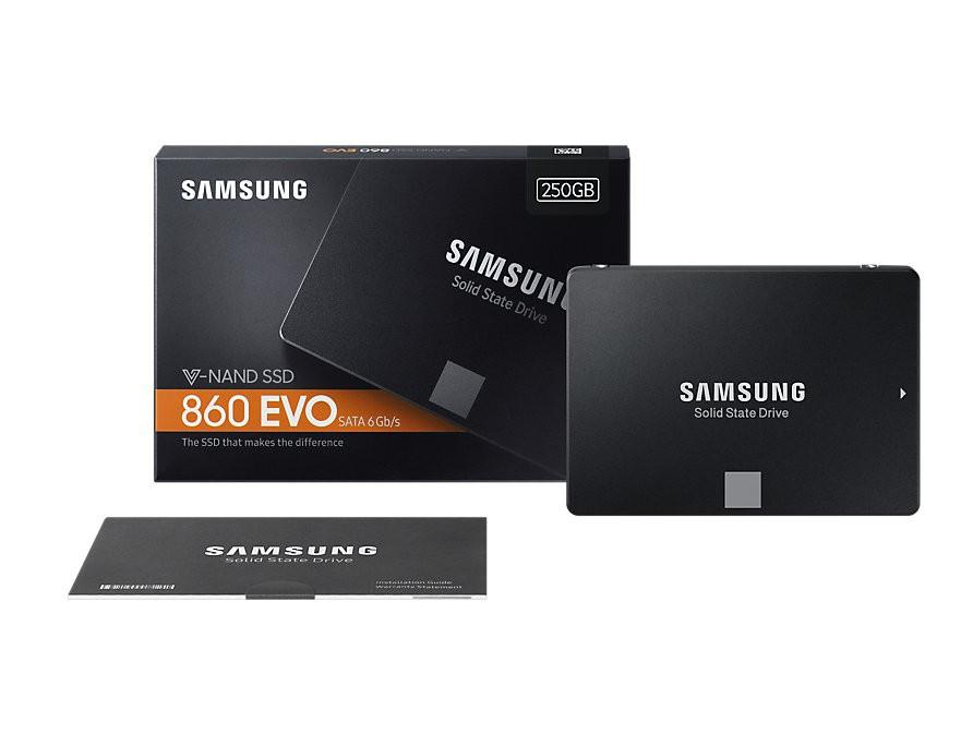 SSD Samsung 860 EVO 250GB  - Rei dos HDs