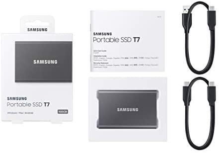 SSD Samsung T7 1TB Preto  - Rei dos HDs