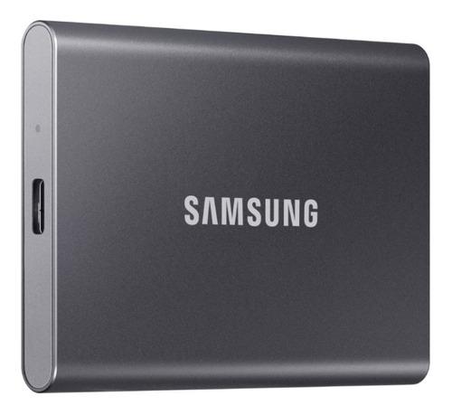 SSD Samsung T7 500GB Preto  - Rei dos HDs