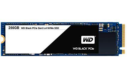SSD WD Black M2 PCIe 250GB   - Rei dos HDs