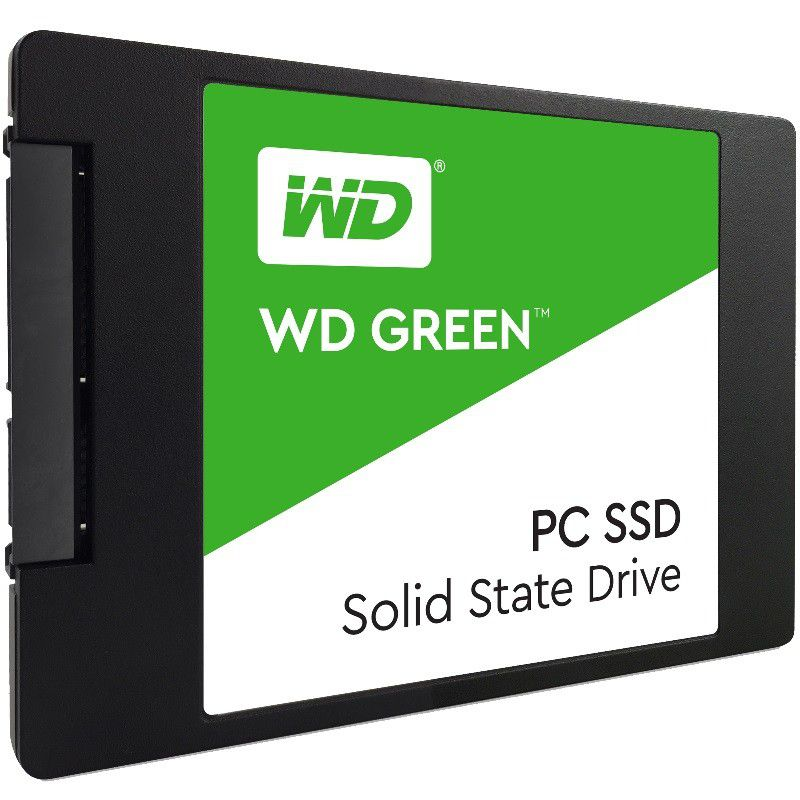 SSD WD Green 480GB  - Rei dos HDs